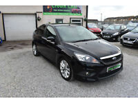 Ford Focus 2.0TDCi ZETEC S BLACK 5 DOOR + BEST MODEL + BEAUTIFUL 2010