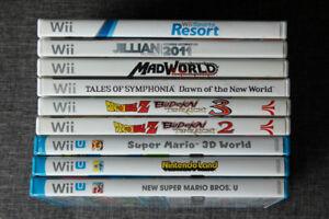 Wii + Wii U Games