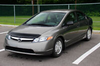 2008 Honda Civic DX-G Sedan, SEULEMENT 90,000 KM, TRES PROPRE.