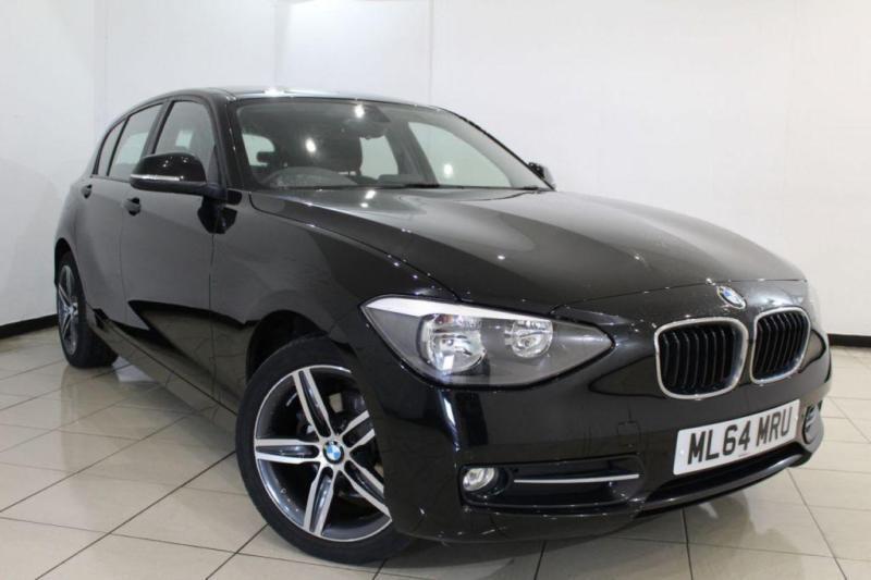 2014 64 BMW 1 SERIES 1.6 116I SPORT 5DR 135 BHP
