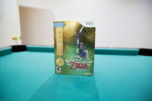 BRAND NEW - The Legend of Zelda Skyward Sword Gold Remote Bundle