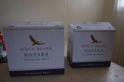 WOLF BLASS 2x unopened boxes