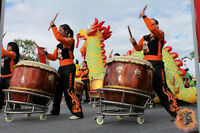 Chinese Dragon & Lion Dance | Drumming | Martial Arts: 2017/2018