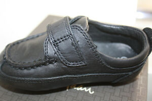 New Cole Haan leather mocassins shoes chaussures baby boy SZ 4