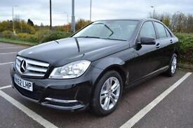 2012 62 MERCEDES-BENZ C CLASS 2.1 C220 CDI BLUEEFFICIENCY EXECUTIVE SE 4DR AUTO