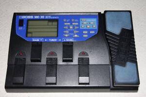 BOSS ME-30 Guitar Multiple Effects Pedal for sale