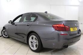 2016 16 BMW 5 SERIES 2.0 520D M SPORT 4DR AUTOMATIC 188 BHP DIESEL