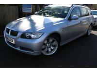 2006 BMW 3 SERIES 330d SE Touring Silver 5 Door Long MOT Finance Available