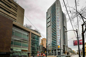 1 BR + Den - TV Towers – Heart of Downtown Vancouver