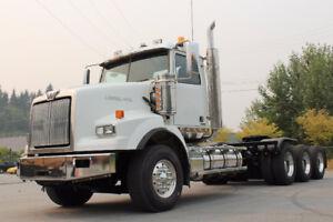 2013 Western Star 4900 Tri-Drive #4742