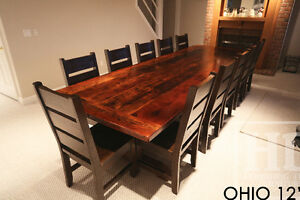 Reclaimed Wood Tables - Locally Created Cambridge Kitchener Area image 7