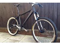 High Spec ON ONE Carbon Frame Mountain Bike