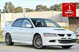 2003 Mitsubishi Lancer CT9A Evolution VIII White Manual Sedan Mordialloc Kingston Area Preview