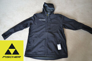 Fischer Softshell Jacket - Size Small - New