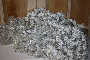Christmas Garland- Tinsel, wooden & plastic beads-See photos Belleville Belleville Area image 2