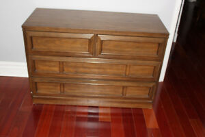 2 dressers -- Solid Wood