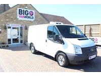 2012 FORD TRANSIT 250 FRIDGE SWB LOW ROOF TDCI 100 INSULATED/REFRIGERATED DIESEL