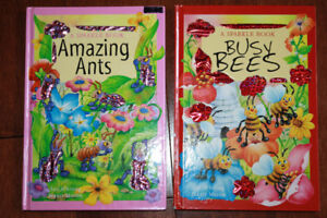 2 Toddler Books - Busy Bees and Amazing Ants