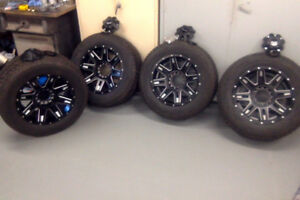 265/60/R18'' cooper winter tires and rims