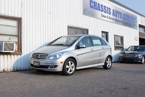 2007 MERCEDES B200 ONE OWNER- ACCIDENT FREE / LOW KM!! $6499