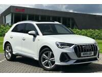 2019 Audi Q3 S line 35 TDI 150 PS S tronic Auto Estate Diesel Automatic