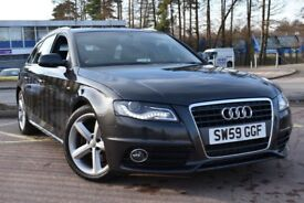 Audi A4 2.0TDI 140PS S line (grey) 2009