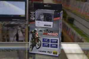 Action Cam HD Full 1080p WiFi 12MP Mini Cam + Accessories