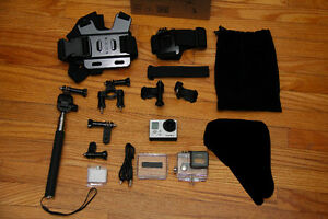 GoPro Hero 3 - with LOTS of new accessories!