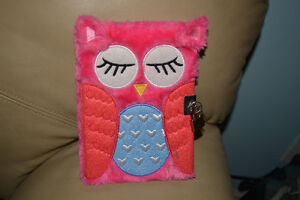 Diary or notebook from Claires. With lock and key.  Brand new