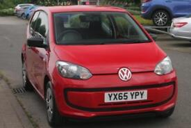 2015 Volkswagen UP 1.0 60PS Take up! Petrol red Manual