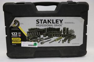 **122 PC** Stanley Professional Grade Chrome Socket Set (#16852)