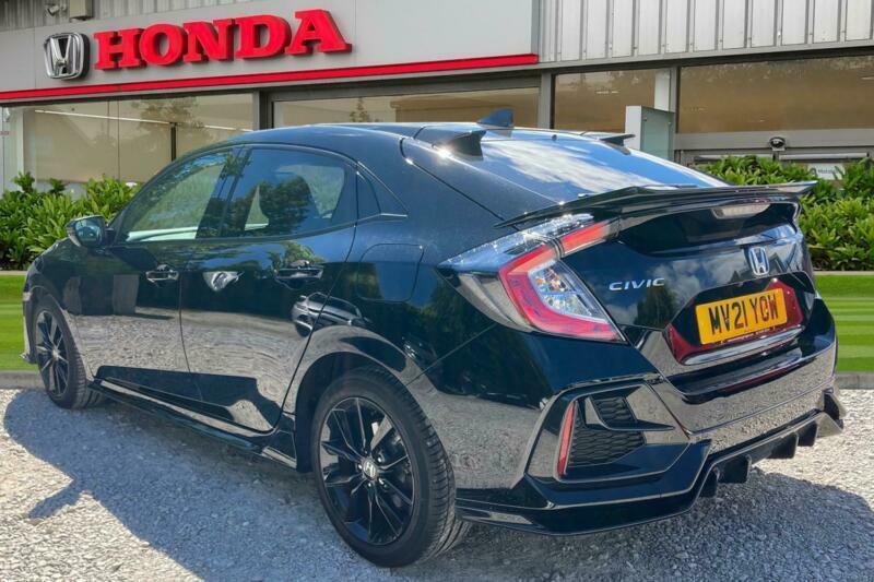 2021 Honda Civic 1.0 VTEC Turbo EX Sport Line (s/s) 5dr Hatchback Petrol Manual