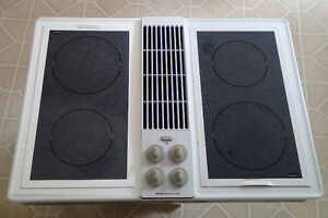 Jenn-Air Cooktop with A122 Radiant Cartridges
