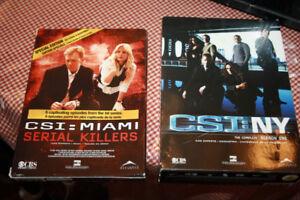 DVD SERIE CSI NY ET CSI MIAMI