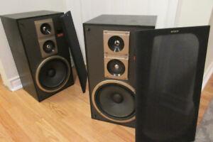 Sony 3-Way Stereo Speakers