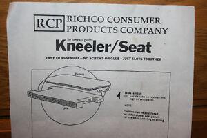 Gardening Kneeler/Seat  NEW PRICE Belleville Belleville Area image 2