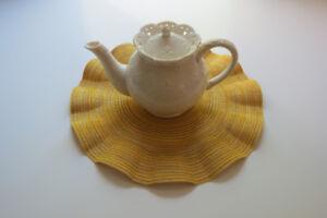 Skye Mcghie Cream Lace fine porcelain