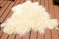 Angora Goat Hair Rug