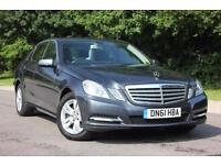 2011 MERCEDES E-CLASS E200 CDI BLUEEFFICIENCY SE EDITION 125 SALOON DIESEL