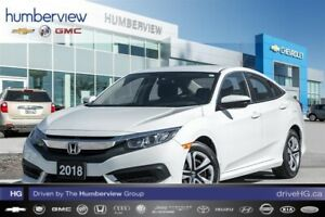 2018 Honda Civic LX HEATED SEATS|BACKUP CAM|BLUETOOTH|A/C