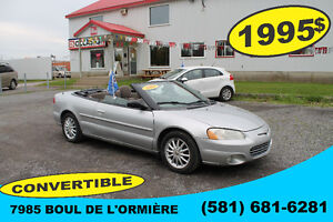 CHRYSLER SEBRING 2003 CONVERTIBLE DECAPOTABLE