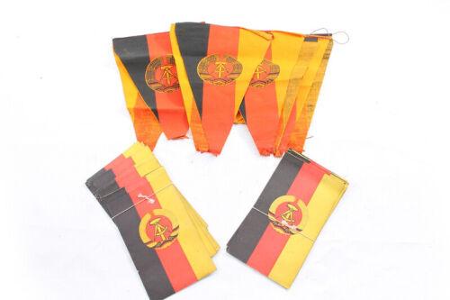 3 Piece GDR Banner Emblem Flag Emblem Pennant Flags Wreath Set