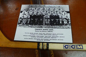 """Maple Leafs Legends (1940's-60's)  8 """"X 10"""" Laminated Photos"""