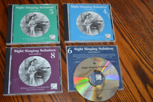 Royal Conservatory of Music CDs : Sight Singing Solution, 4-8
