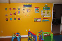 F-T spot available in Hespeler Home Daycare