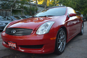 2006 Infiniti G35 Coupe Sport 6MT - Navi - Excellent Condition!