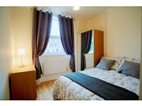 newly refurbished 3-bedroom apartment in New Cross just 2 mins walk from New Cross Station