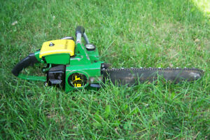 Chainsaw mower and hedge trimmer sharpening