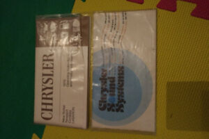 1978 Chrysler Owners Manual - package set