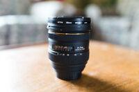 Sigma 24-70 F2.8 Canon lens